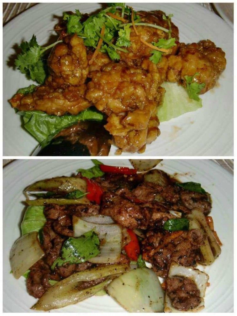 Chicken and Deer Meat