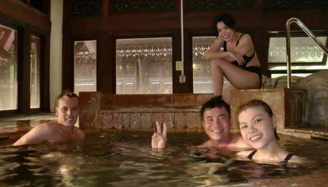 Fun in Pulai Springs Resort Jacuzzi Pool