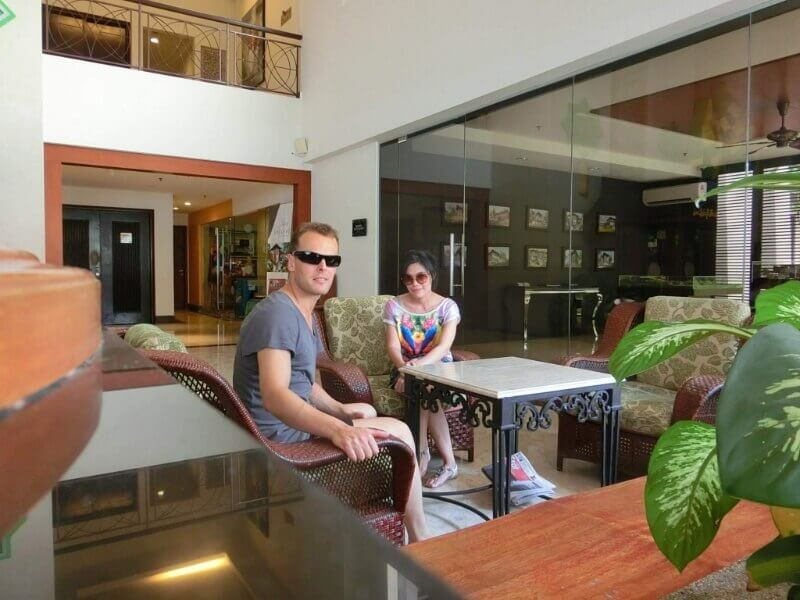 Hotel Lobby in Pulai Springs Resort