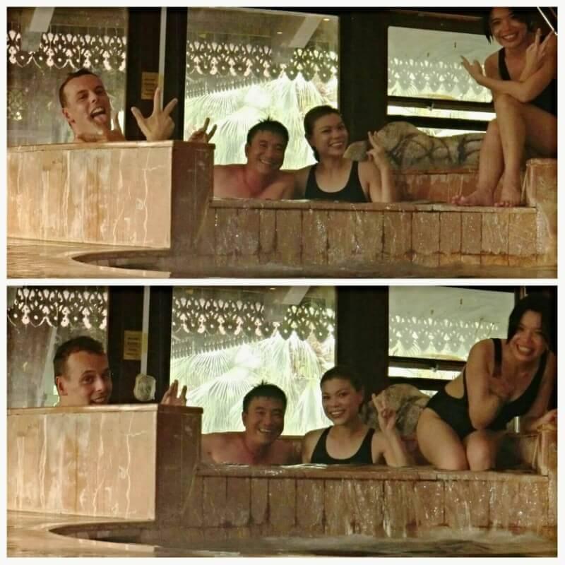 Fun in Jacuzzi Pool