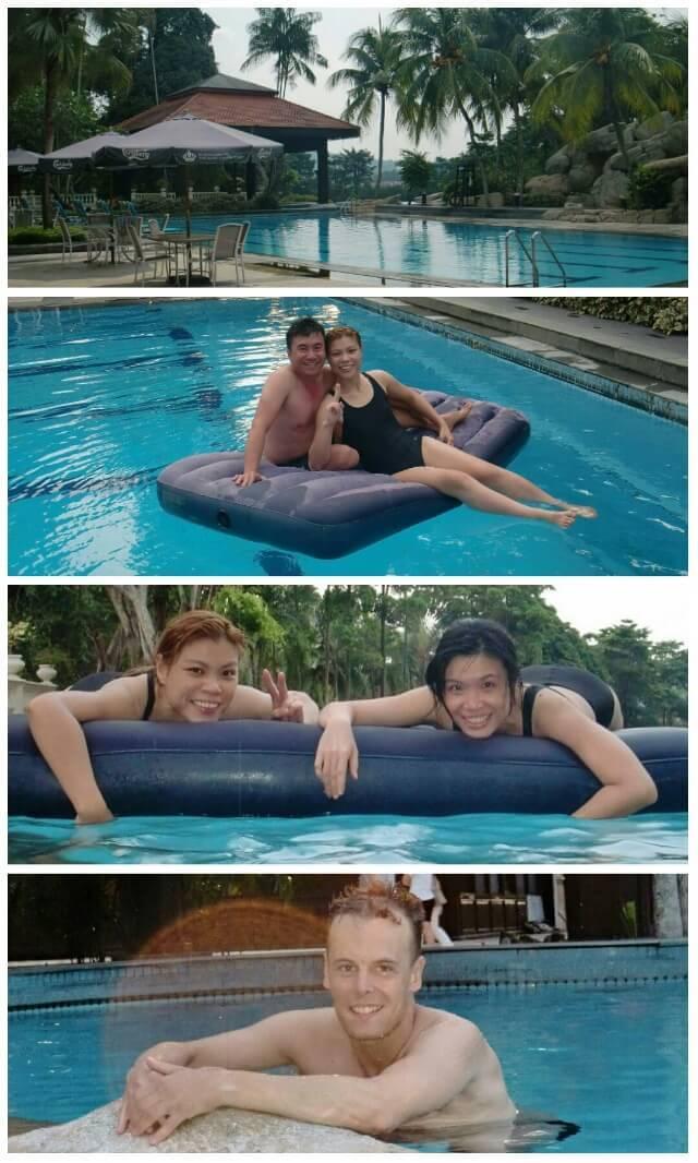 Swimming Pool in Pulai Springs Resort