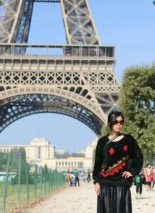 C'est moi à Paris