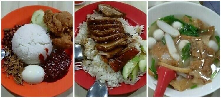 Eat@B5 Food