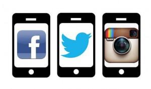 Social Media Facebook Twitter Instagram