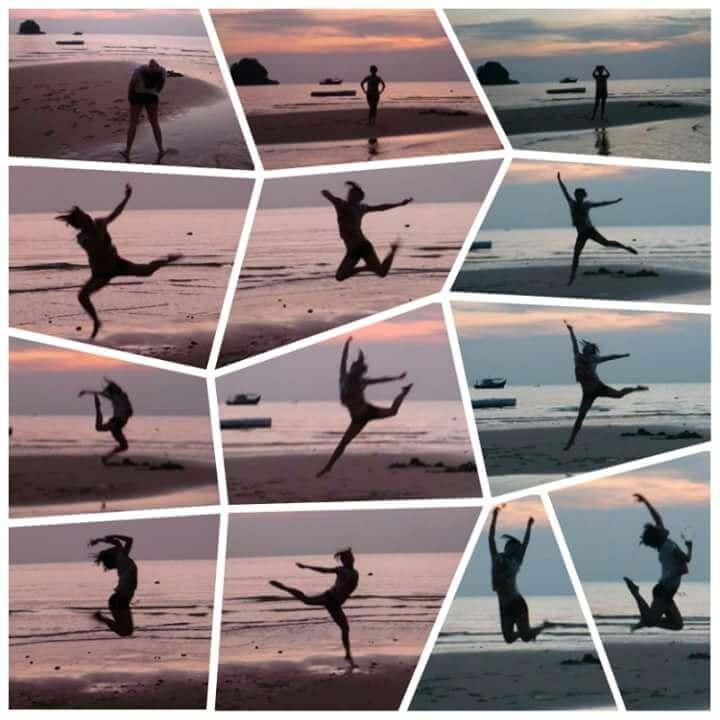 Fun Jump Shots on Tioman Beach