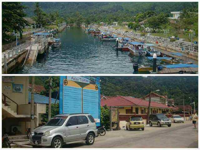 Kampung Tekek in Tioman