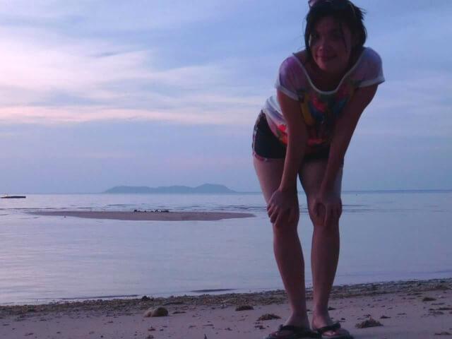 Posing in Tioman