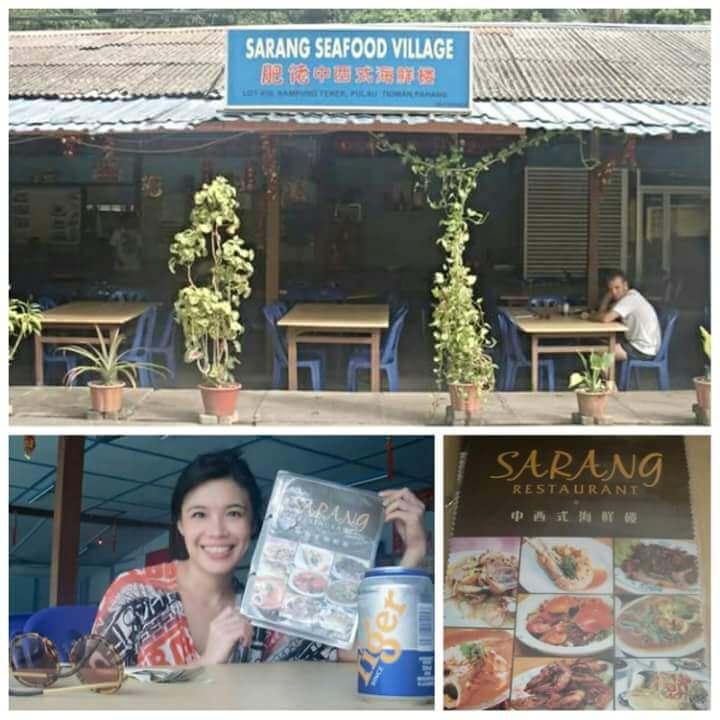 Sarang Seafood Restaurant in Kampung Tekek