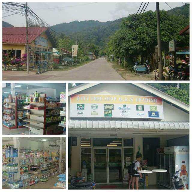 Shops in Kampung Tekek