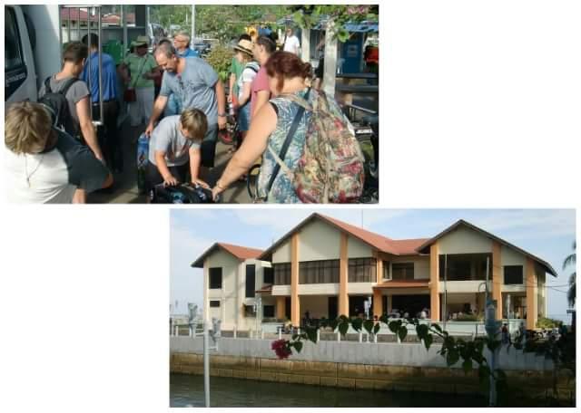Shuttle to Kampung Tekek Ferry Terminal