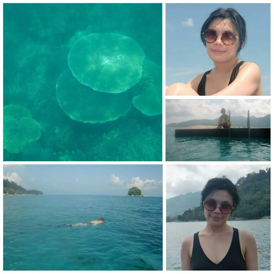 Swimming and Snorkeling in Tioman