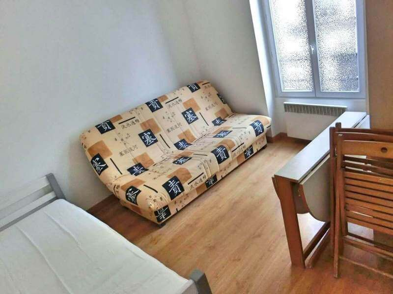 Your Room. Please note that the sofa bed is no longer inside the room.